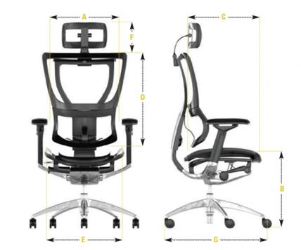 Scaun de Birou Reglabil - Electric - Stand Up - Mirus