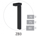 ZB3 - profil dreptunghiular